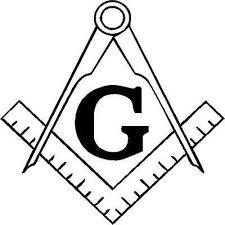 Masonic Emblem Vinyl Decal Truck Window Decal Freemason Square Compass 3 00 Picclick