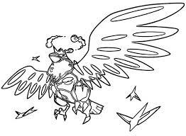 Kleurplaat Gigantamax Pokemon Gigantamax Corviknight 6