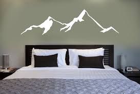 Mountain Wall Decal Powderaddicts