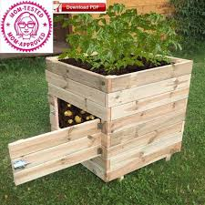 potato planter box plan planter box