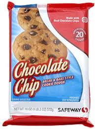 safeway chocolate chip break bake