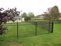 How To Put Up A Black Metal Fence Randolph Indoor And Outdoor Design