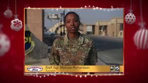 Military Greetings: Staff Sgt. Melissa Richardson - YouTube