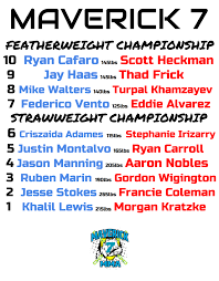 Maverick MMA 7 Results - Scott Heckman vs. Ryan Kim Cafaro