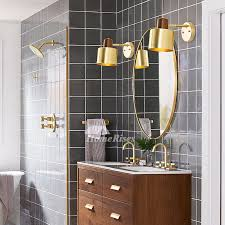 brass bedside lamp wall mounted makeup