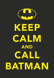 Keep Calm And Call Batman Wall Decal Custom Wall Graphics