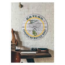 20x20 Throwback Circle Sign Baylor Bears Tennis Selling Daddy
