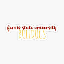 Ferris State University Stickers Redbubble