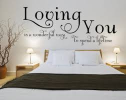 Romantic Wall Decal Etsy