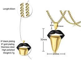 men black gold tone stainless steel