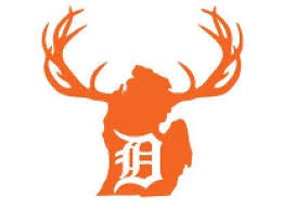 6 Decal Detroit Tigers Old English D Detroit Tigers Old English D Vinyl Decals