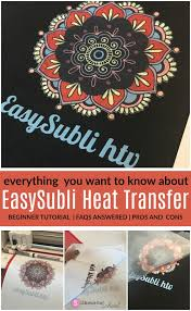 Siser Easysubli Htv Everything You Want To Know About Sublimation Htv Silhouette School
