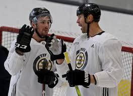 Zdeno Chara takes step forward for Bruins