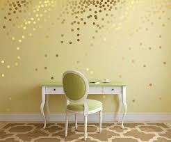 Gold Polka Dot Decals Gold Polka Dot Wall Decals Wall Etsy