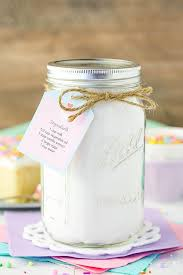 homemade vanilla cake mix easy diy
