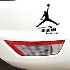 Waterproof Michael Jordan Car Stickers From The Fade Factory Plus