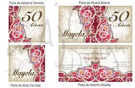 Invitaciones De Cumpleanos 50 Anos Para Fondo De Pantalla 7 En Hd