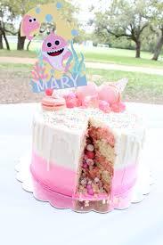 baby shark birthday party celebrating