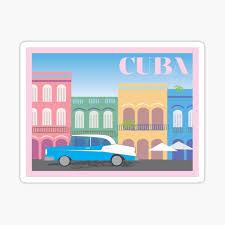 Cuba Stickers Redbubble