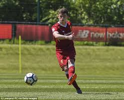 Liverpool starlet Adam Lewis has an educated left foot and ...