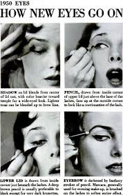 makeup tips 1950s makeup eyes
