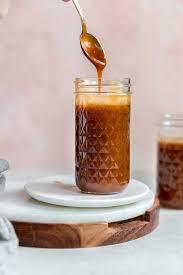 salted caramel sauce recipe brown