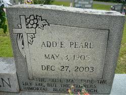 Addie Pearl Rivers Morgan (1905-2003) - Find A Grave Memorial