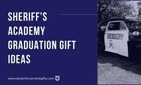 sheriff academy graduation gifts