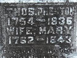 Mary Polly Harrison Preston (1762-1843) - Find A Grave Memorial