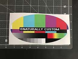 100 Custom Oval Or Rectangle Vinyl Stickers Naturally Custom
