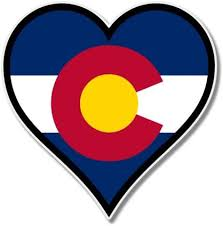 Amazon Com Ak Wall Art Colorado Flag Heart Vinyl Sticker Car Phone Helmet Select Size Home Kitchen