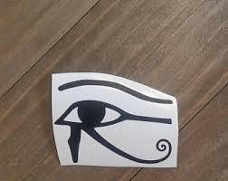 Eye Of Horus Sticker Etsy
