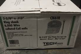 3 8 x113 collated coil nails 6000 wire