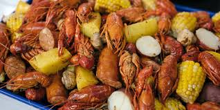 New Orleans-style crawfish boil