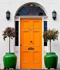 paint colors for exterior wood door