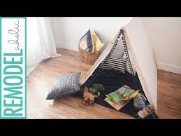 Make A No Sew Kids Tent In Under 1 Hour Youtube