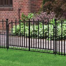 No Dig Empire 3 In X 3 In W X 3 1 2 Ft H Black Steel Universal Fence Post In The Metal Fence Posts Department At Lowes Com