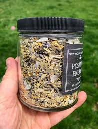 Positive Energy Herbal Incense - Loose Incense Rosemary, Lavender ...