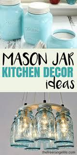 mason jar kitchen decor ideas