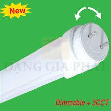 Đèn LED Tube nhôm T8 dùng dimable + 3CCT( Remonte RF) MPE