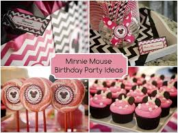 minnie mouse birthday party diy inspired