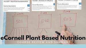 ecornell plant based nutrition course