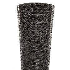 Acorn International Acorn 150 Ft X 5 Ft Black Steel Chicken Wire Garden Poultry Netting Rolled Fencing In The Rolled Fencing Department At Lowes Com