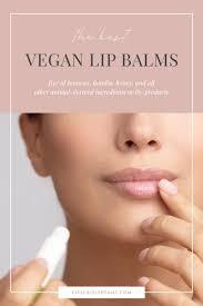 free vegan lip balms