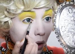diy effie trinket erfly makeup