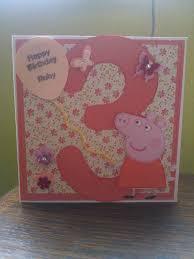 Peppa Pig Birthday Card Tarjetas De Cumpleanos Para Ninos
