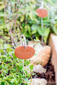 easy diy garden markers oh the