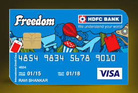 another cashback credit card by hdfc