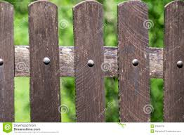 Wooden Fences And The Screws Stock Photo Image Of Vertically Brown 53588178