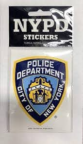 Amazon Com Nypd New York Police Department Offical Licensed Sticker Decal Shield Automotive